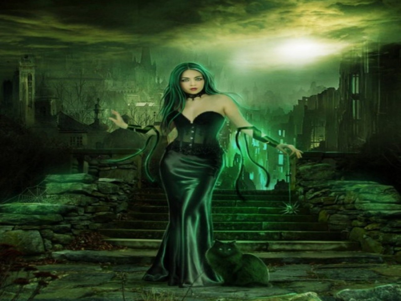 Emerald Lady Wallpaper and Background Image 1280x960 ID146452 1280x960