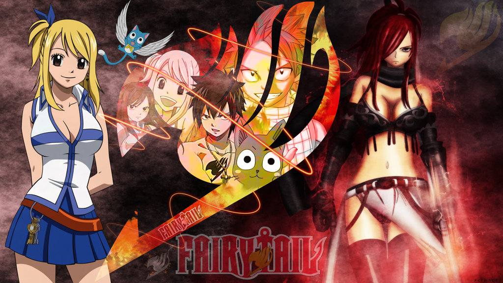 Fairy Tail Erza Wallpaper Hd Fairy tail wallpaper hd by 1024x576