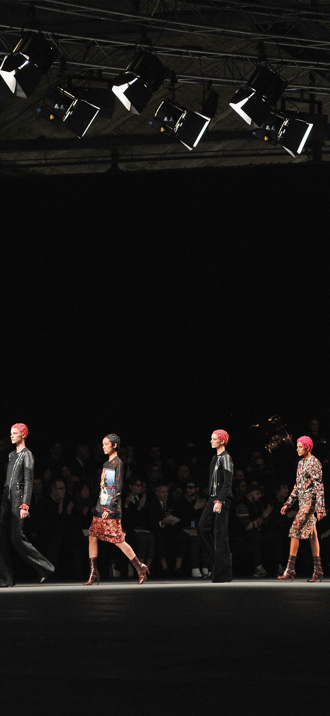 download Givenchy fashion show wallpapers and images 1125x2436