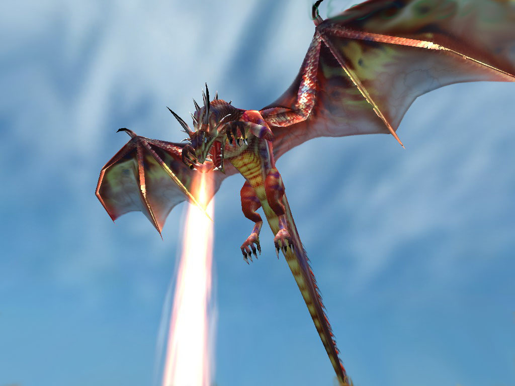 1024 x 768 Dragon Wallpapers Download For Windows Systems 1024x768