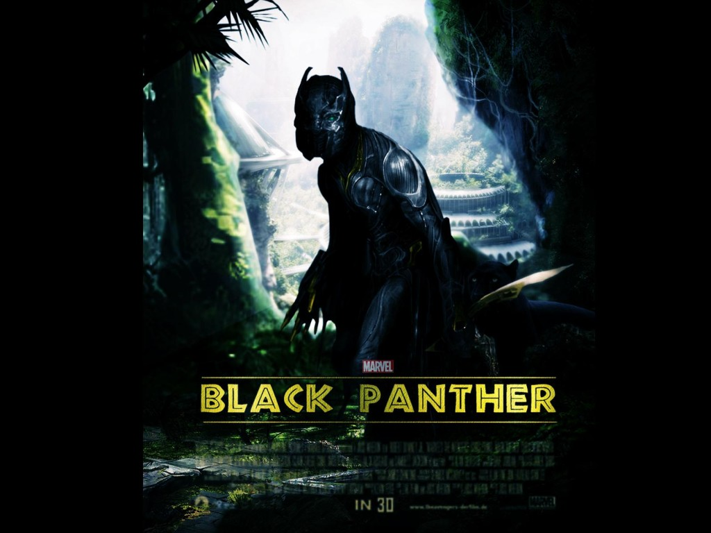 Marvel Black Panther 2017 Movie Poster HD Wallpaper Search more high 1024x768