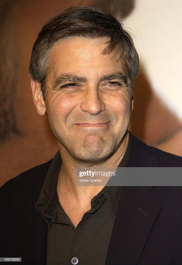 George Clooney during Solaris Los Angeles Premiere at Pacific 704x1024