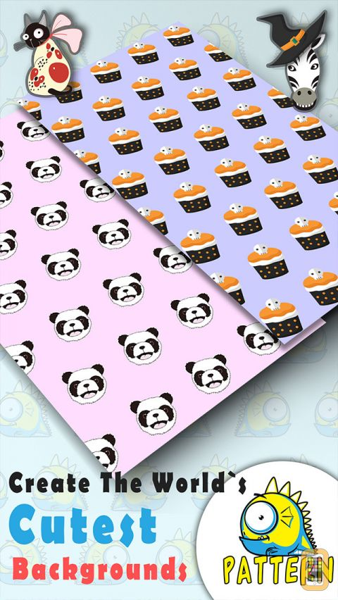 Pattern Wallpapers Backgrounds Creator Pro   Design Cutest Photo 480x852