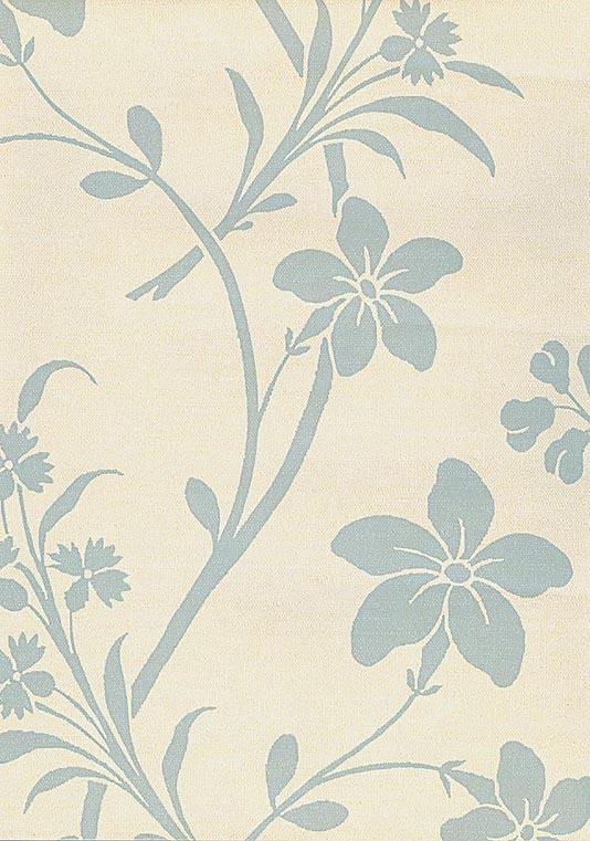 Periwinkle Wallpaper Blue on cream wallpaper the background to this 534x761