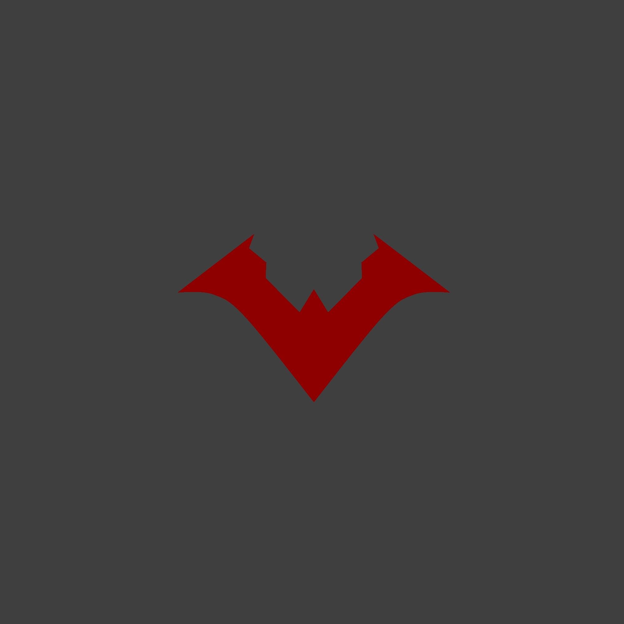 Nu 52 Nightwing logo wallpaper Nightwing Pinterest 2000x2000