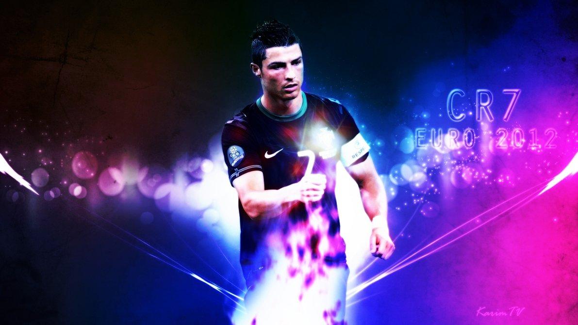 Ronaldo   Euro 2012 Wallpaper [CR7] HD by eL Kira 1191x670