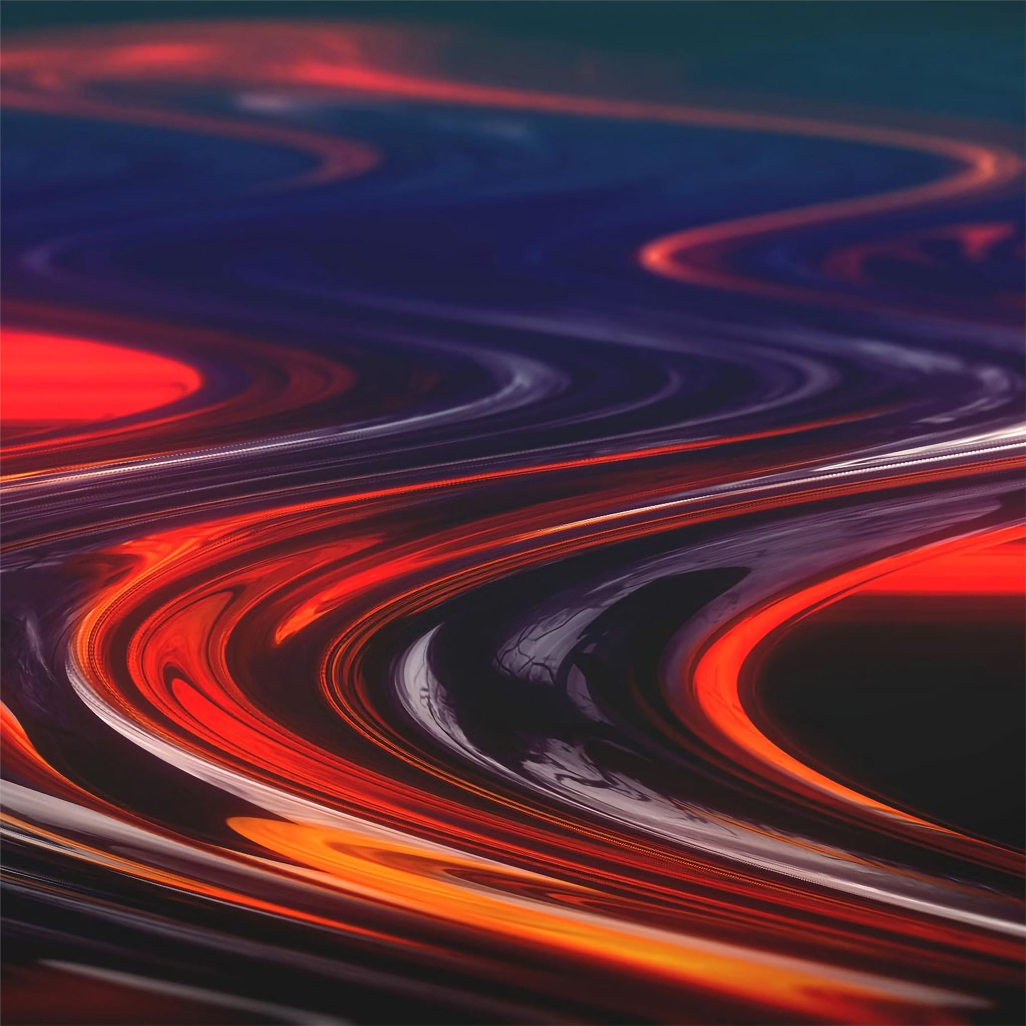 molten swirls abstract 4k iPad Wallpapers Download 2048x2048