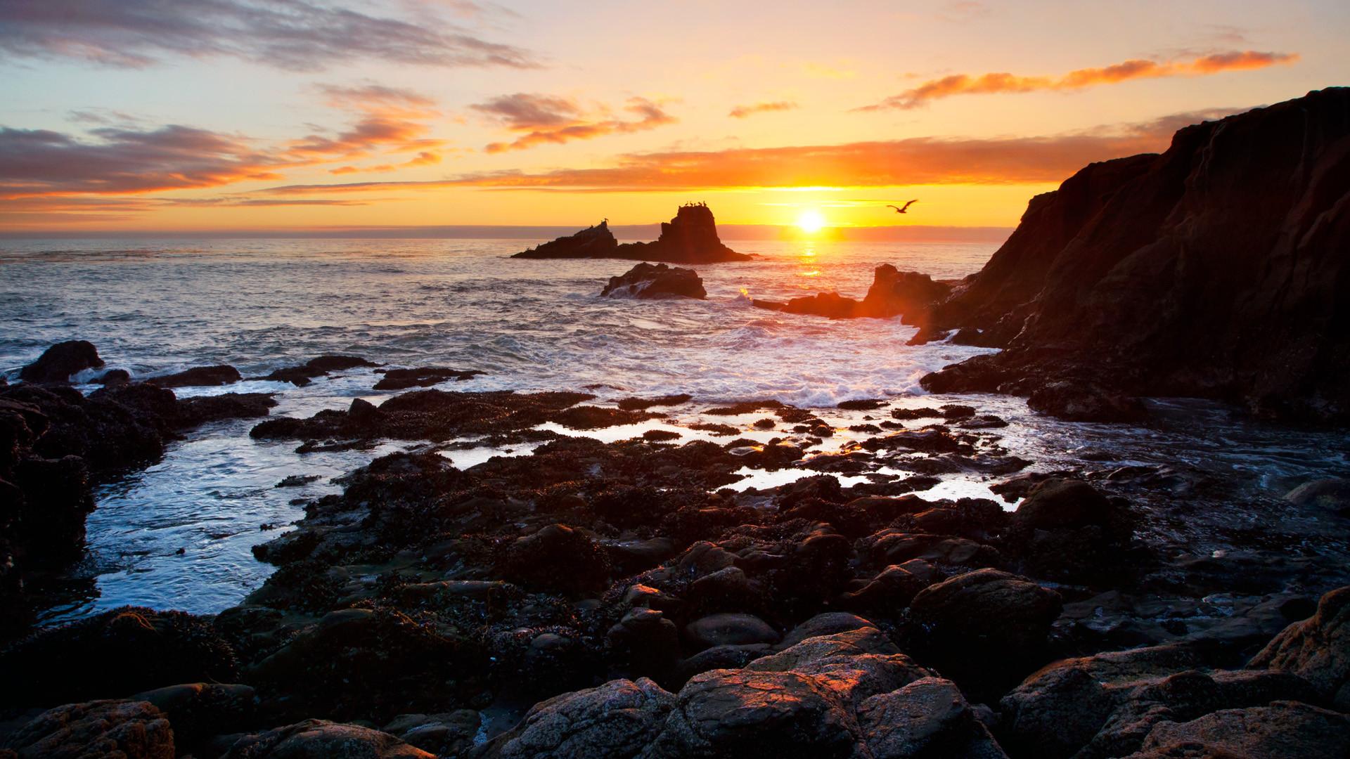 Pics Photos   Laguna Beach Sunset Desktop Wallpaper Laguna 1920x1080
