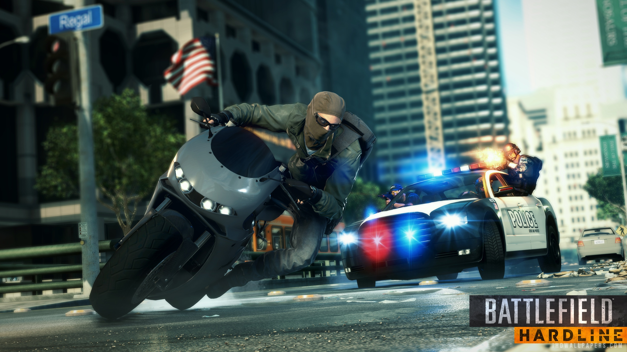 Battlefield Hardline Game Play wallpaper 2560x1440 2560x1440