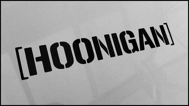 Hoonigan Background Hoonigan vinyl cut decal 606x339