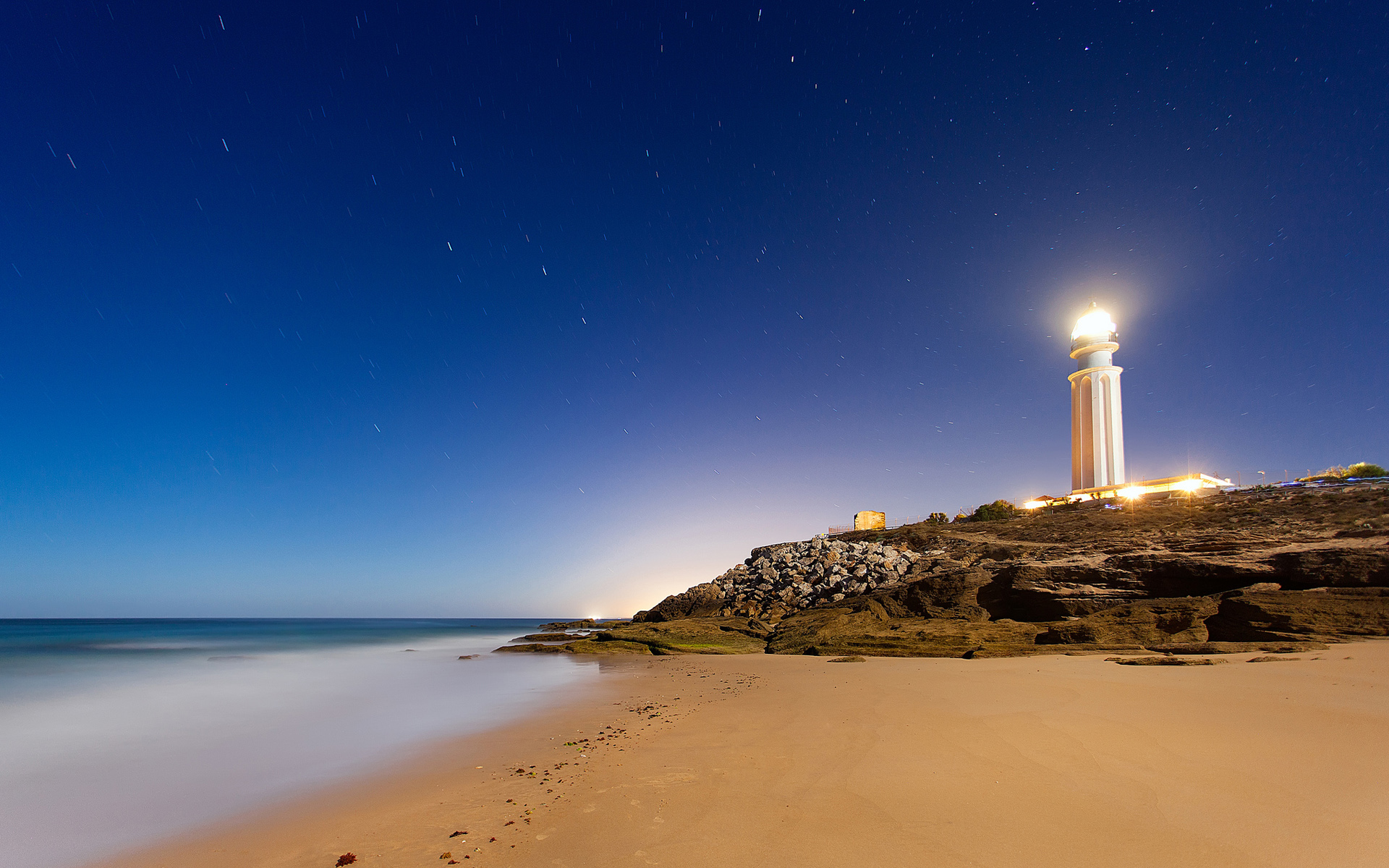 Cape Trafalgar Lighthouse Wallpapers HD Wallpapers 1920x1200