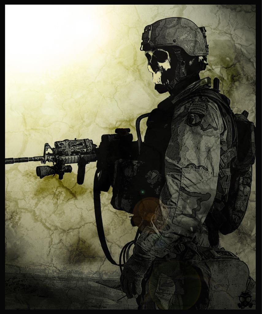 [43+] Skull Soldier Wallpaper HD On WallpaperSafari