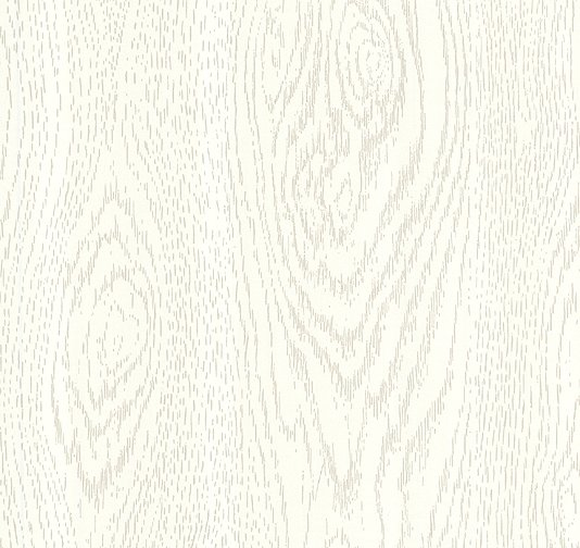 White Wood Wallpaper on 36 wide paper