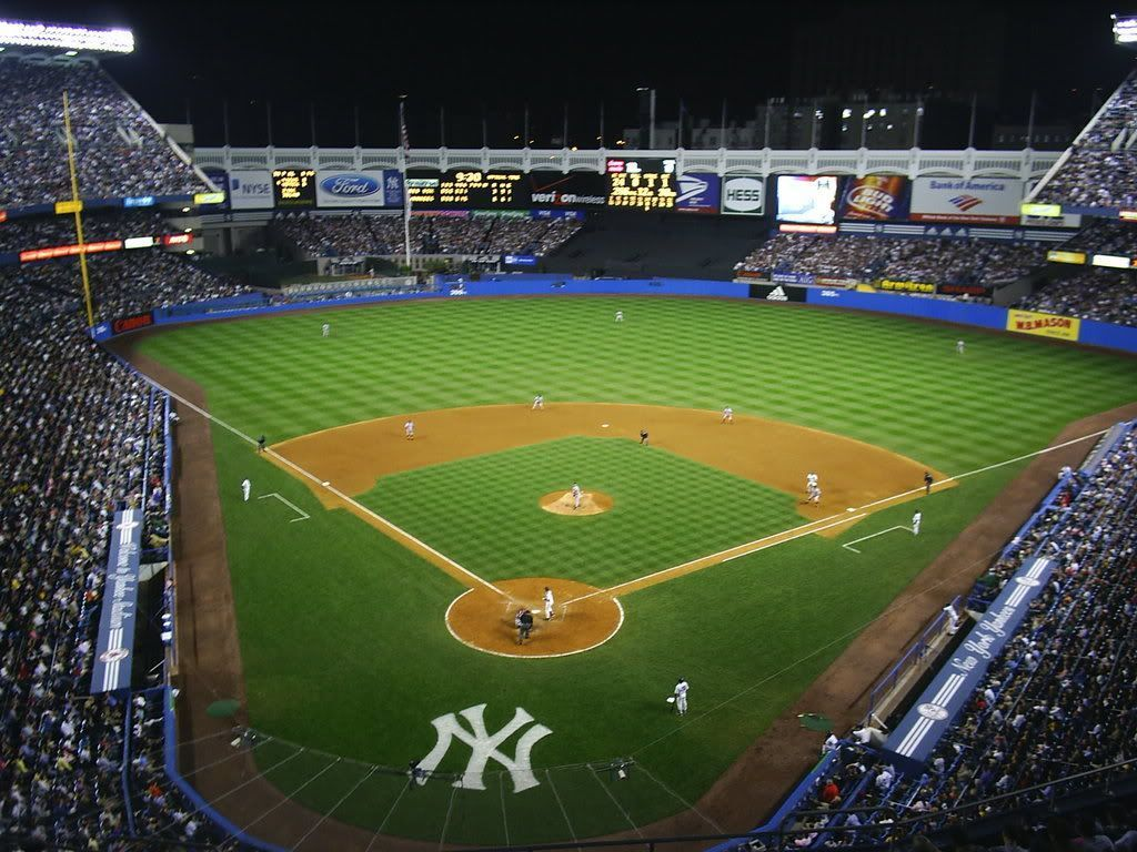 Yankee Stadium Wallpapers 1024x768