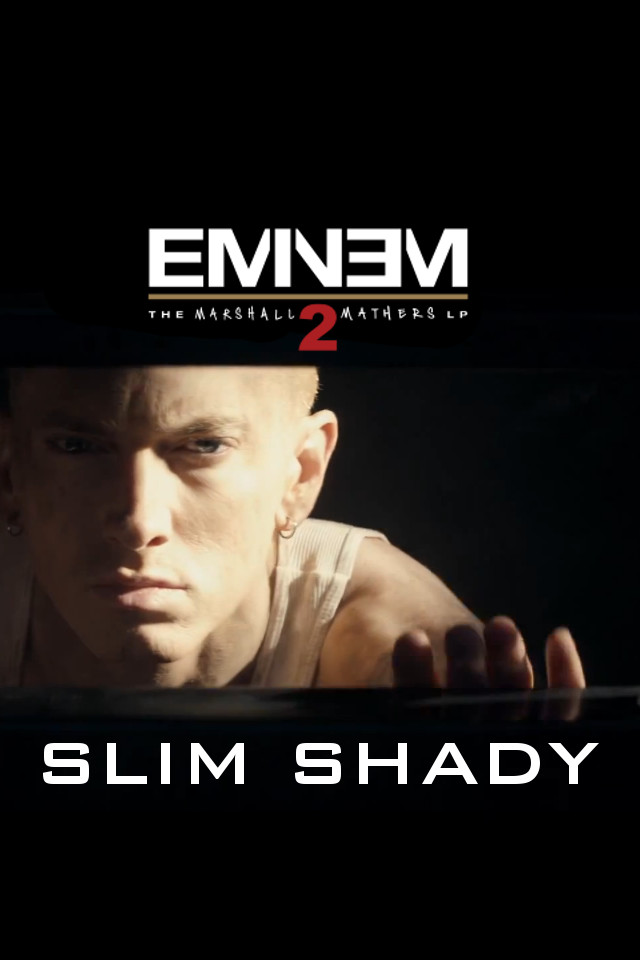 Eminem MMLP2 Iphone wallpaper by ThatGuyWithTheShades 640x960