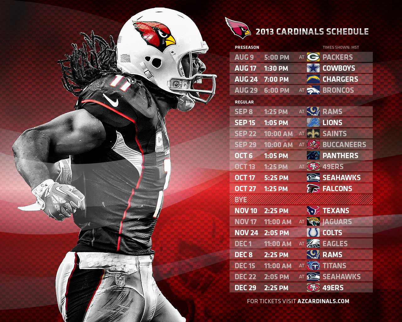 Arizona Cardinals Tickets 2015 Schedule Ticketcity 2016 Car Release 1280x1024