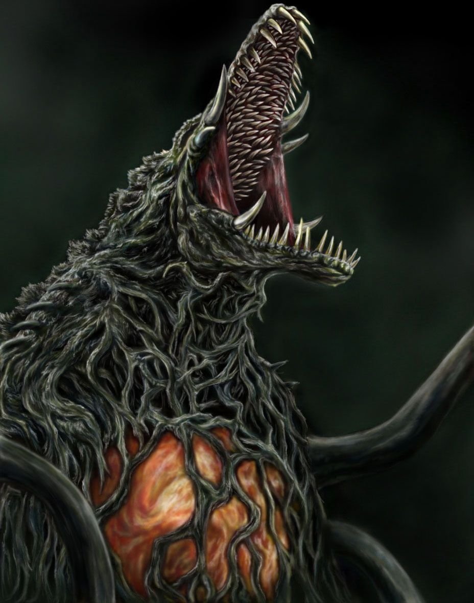 Biollante The only plant monster in the movies inhabited by the 928x1180