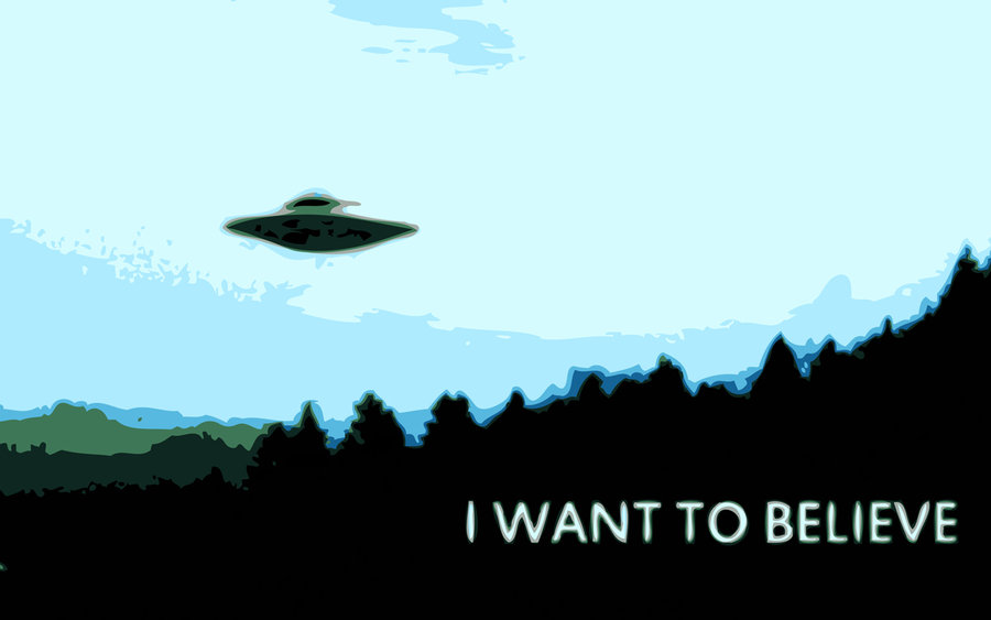 i want to believe wallpaper wallpapersafari