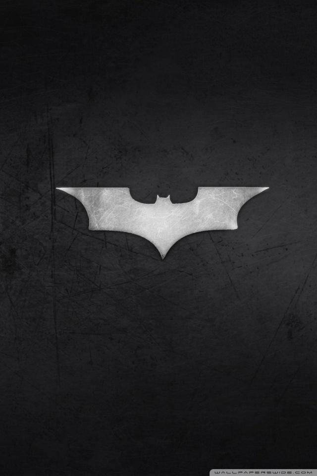 Batman Logo HD desktop wallpaper High Definition Fullscreen 640x960