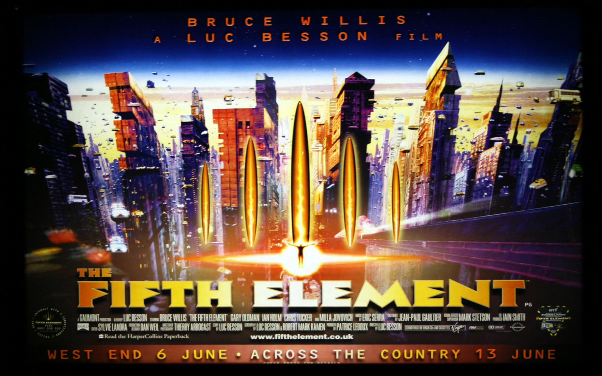 The Fifth Element   The Fifth Element Wallpaper 7390412 1920x1200