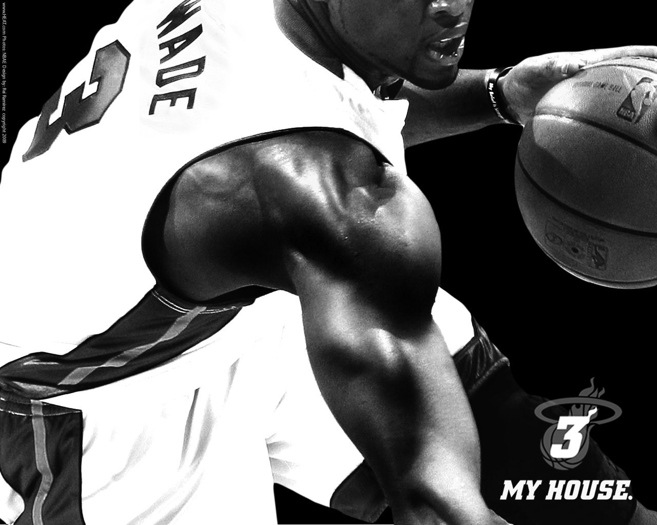 Best Top Desktop Wallpapers HD Dwyane Wade   Miami Heat wallpapers hd 1280x1024