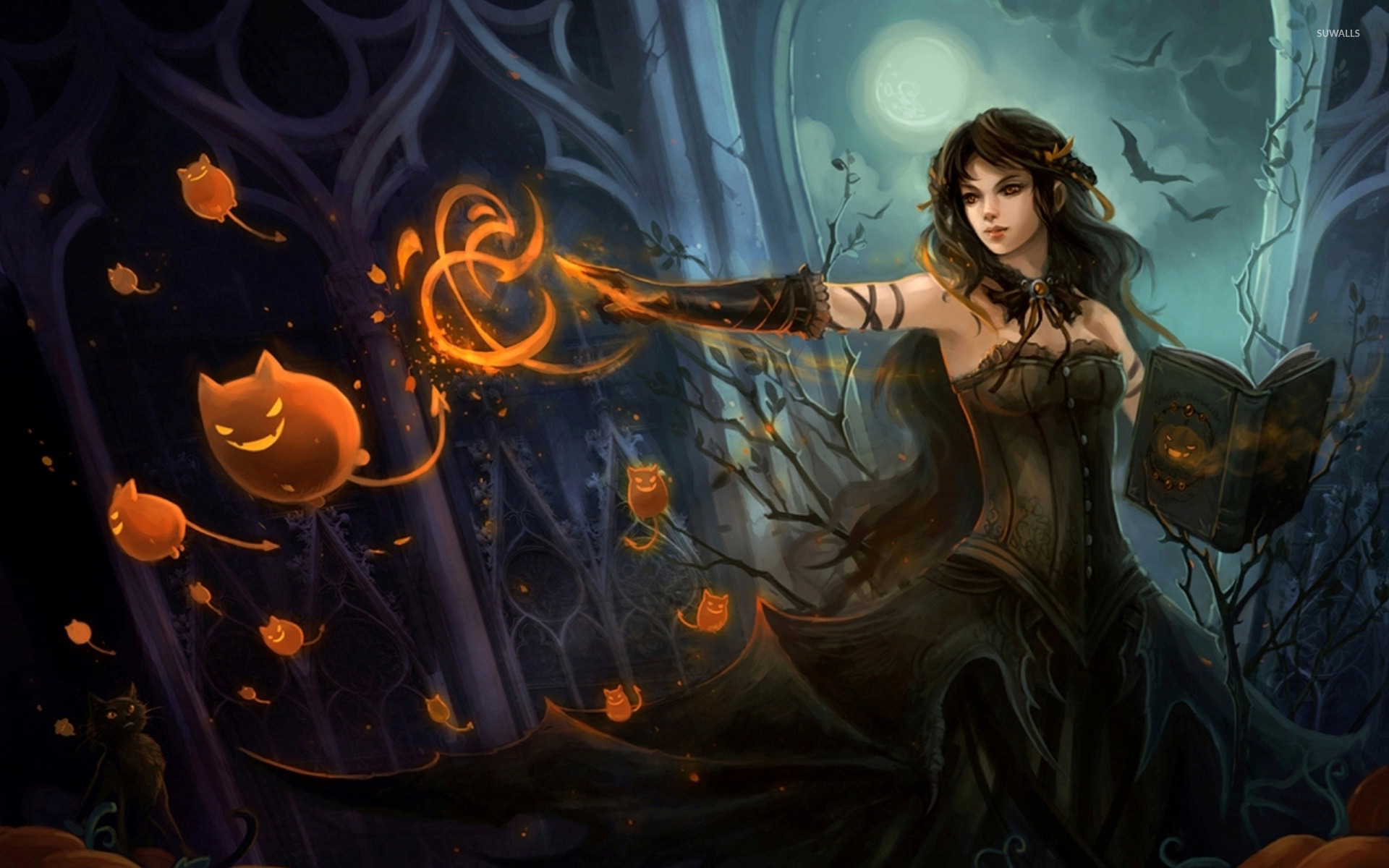 Witch wallpaper   Fantasy wallpapers   11747 1920x1200