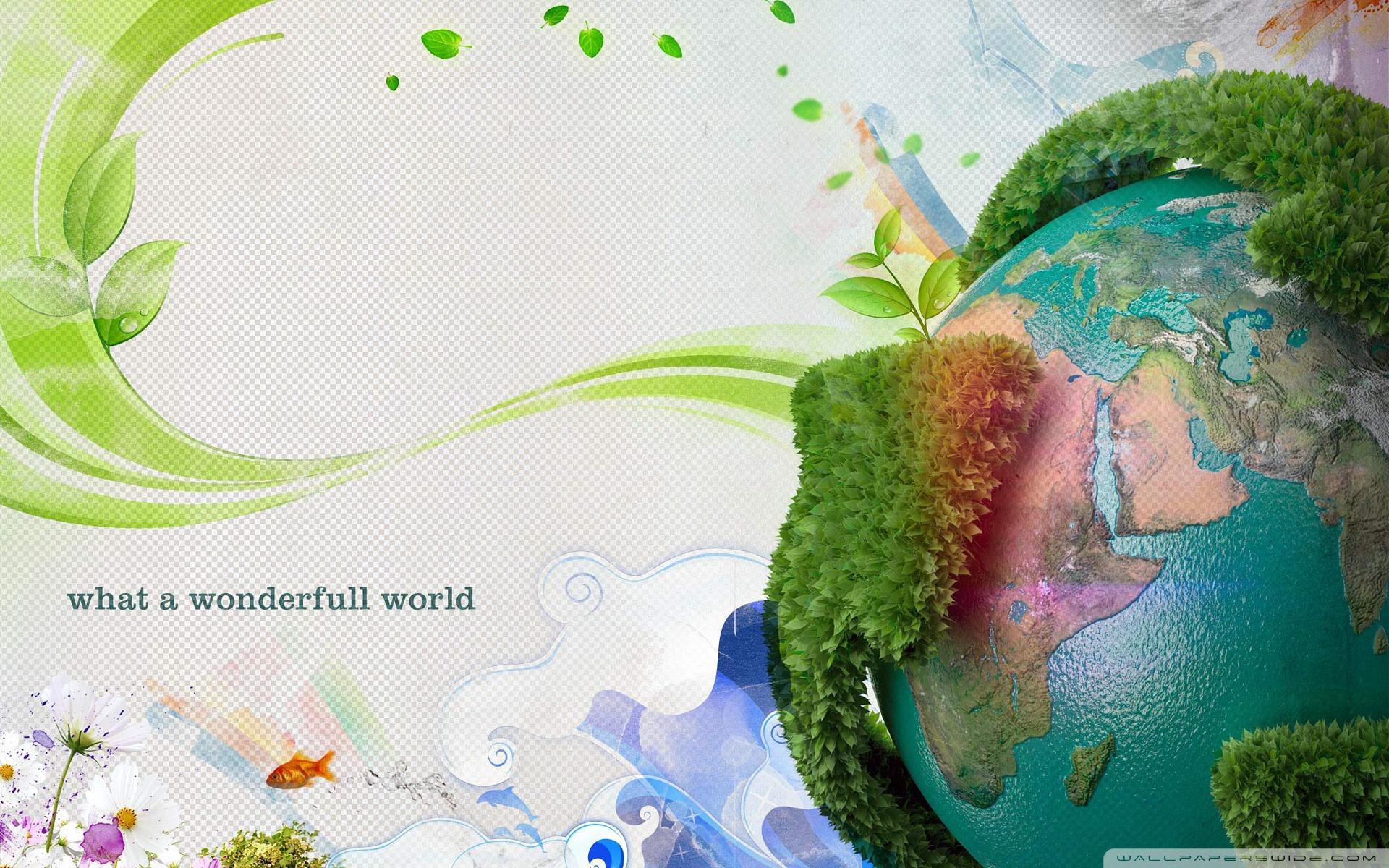 Earth Day 4K HD Desktop Wallpaper for 4K Ultra HD TV Wide 1920x1200