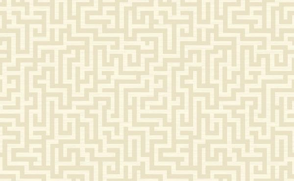 Greek Key Wallpaper in Beige and Off White design by Seabrook Wallcove 600x369