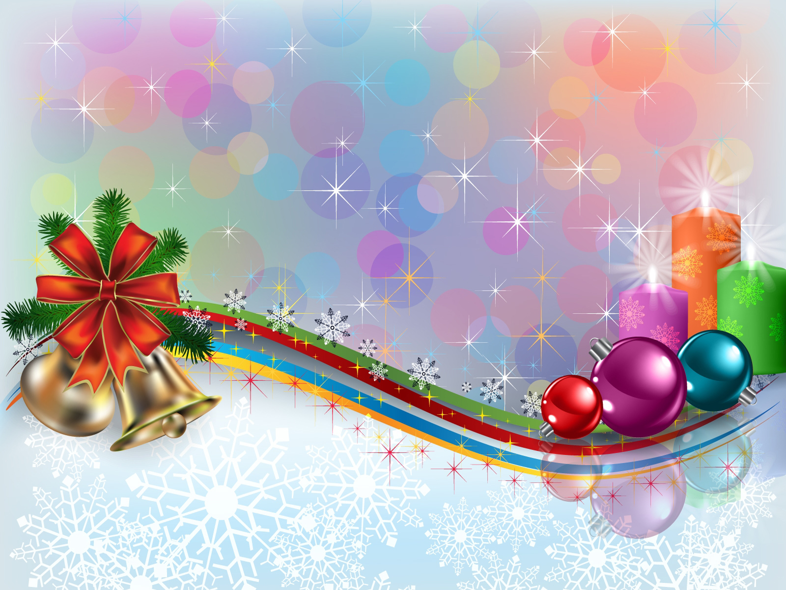 Pics Photos   Beautifull Christmas Computer Desktop 1600x1200