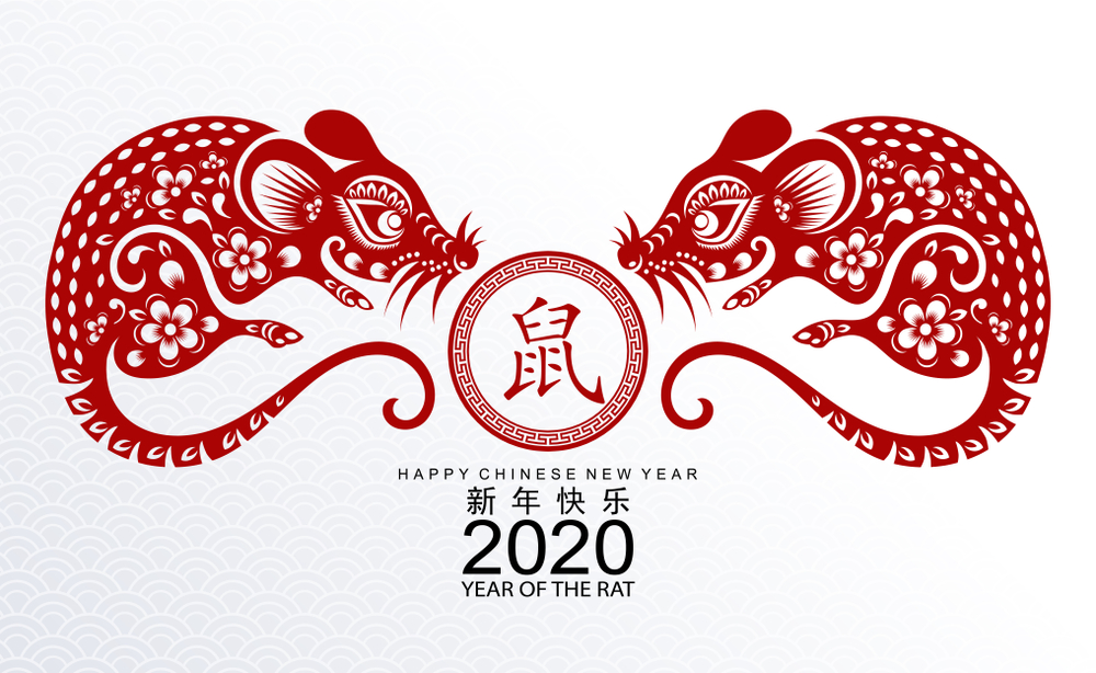 Year of the Rat   Chinese New Year 2020 Images   HappyNewYear2020 1000x614
