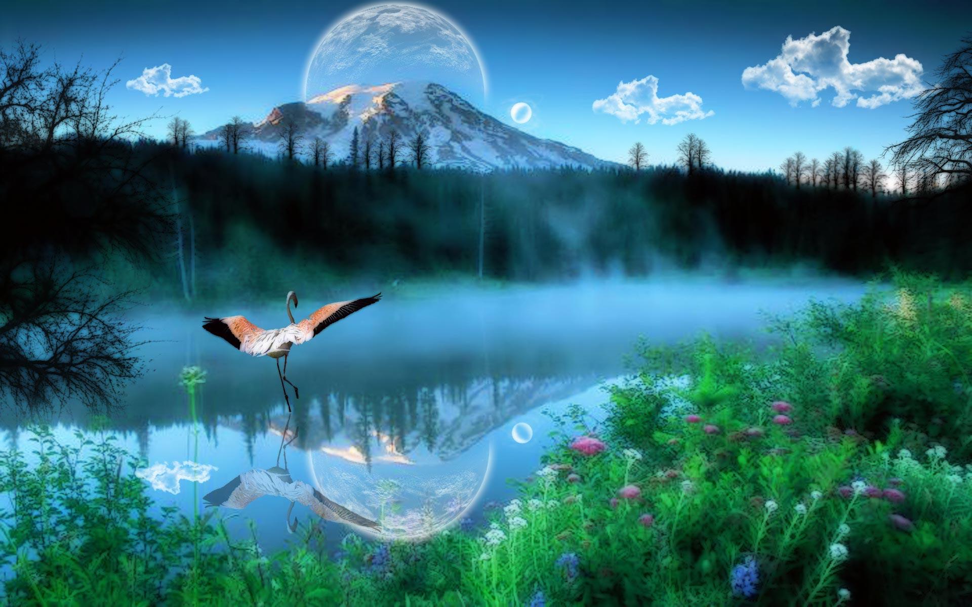Открытки о природе мира, днем рождения