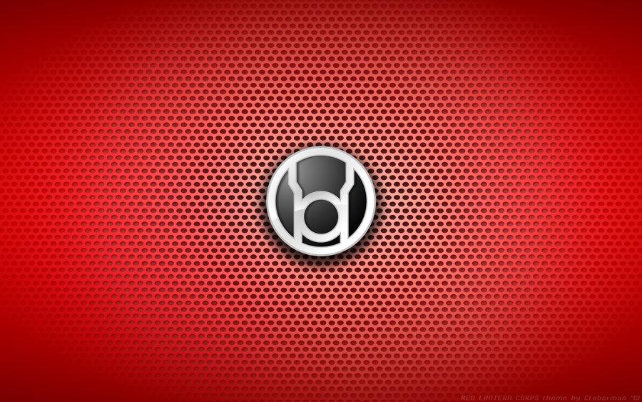 Wallpaper   Red Lantern Corps Logo by Kalangozilla 900x563