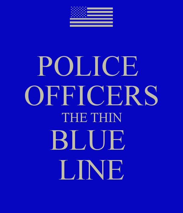 Blue Line Wallpaper: Police Thin Blue Line Wallpaper
