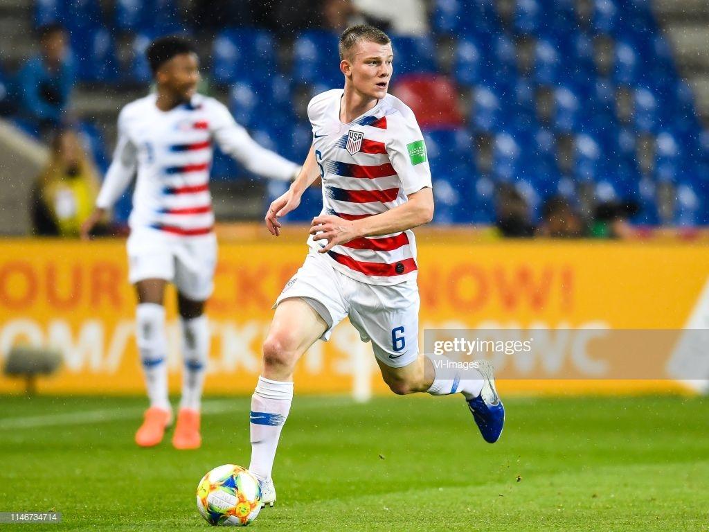 Chris Durkin of USA U20 during the FIFA U 20 World Cup Poland 2019 1024x768