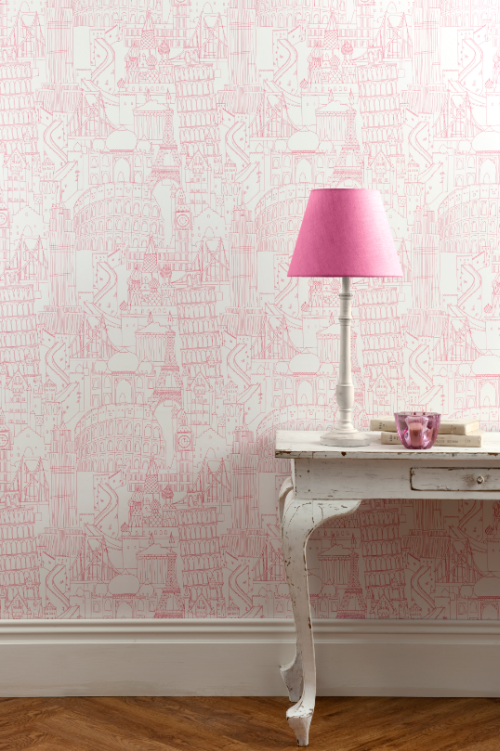 Friday Find New Wallpaper Collection by Clarke Clarke   Simplified 500x751