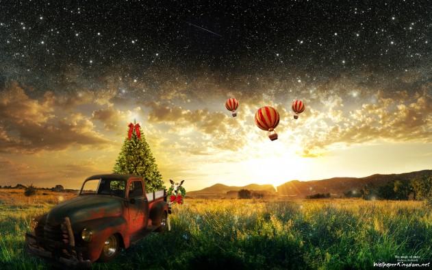 Christmas Magic Wallpaper   HD Wallpapers for Desktop Widescreen 631x394