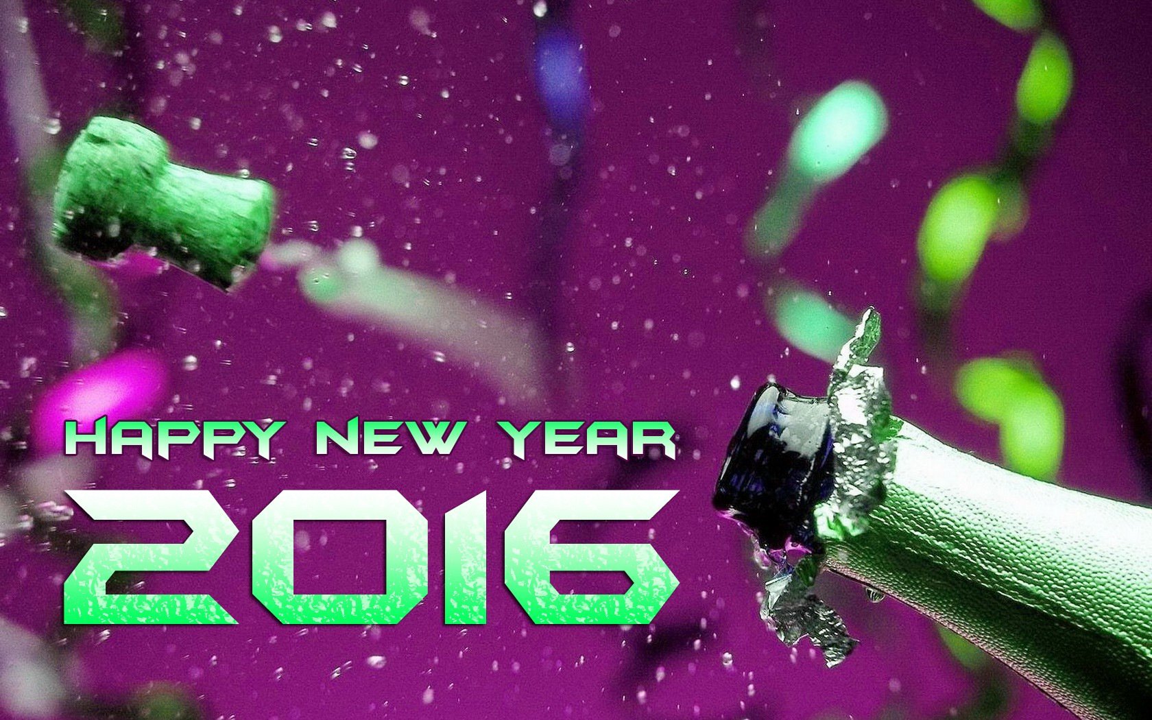 Enjoy New Year 2016 Wallpaper   New HD Wallpapers 1680x1050