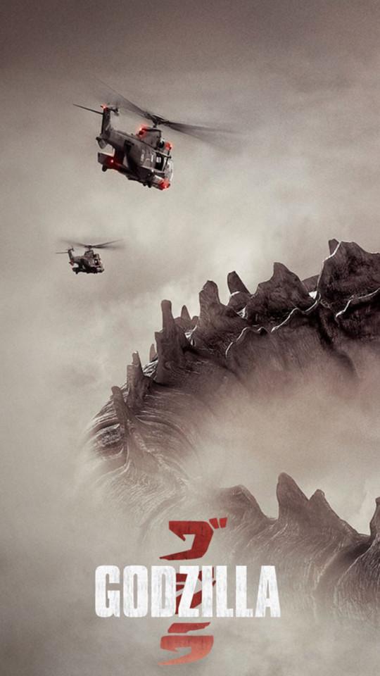 Godzilla 2014 Film Wallpaper   iPhone Wallpapers 540x960