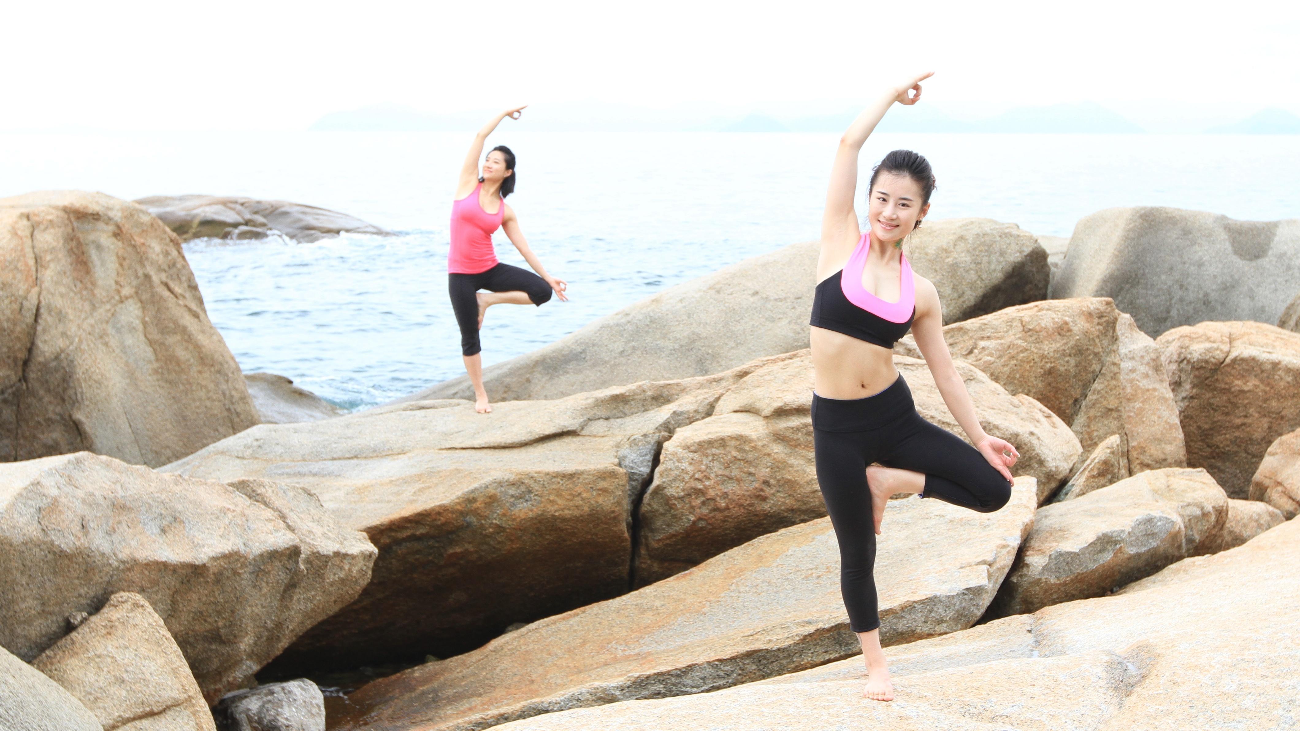 Yoga Poses Wallpaper - WallpaperSafari