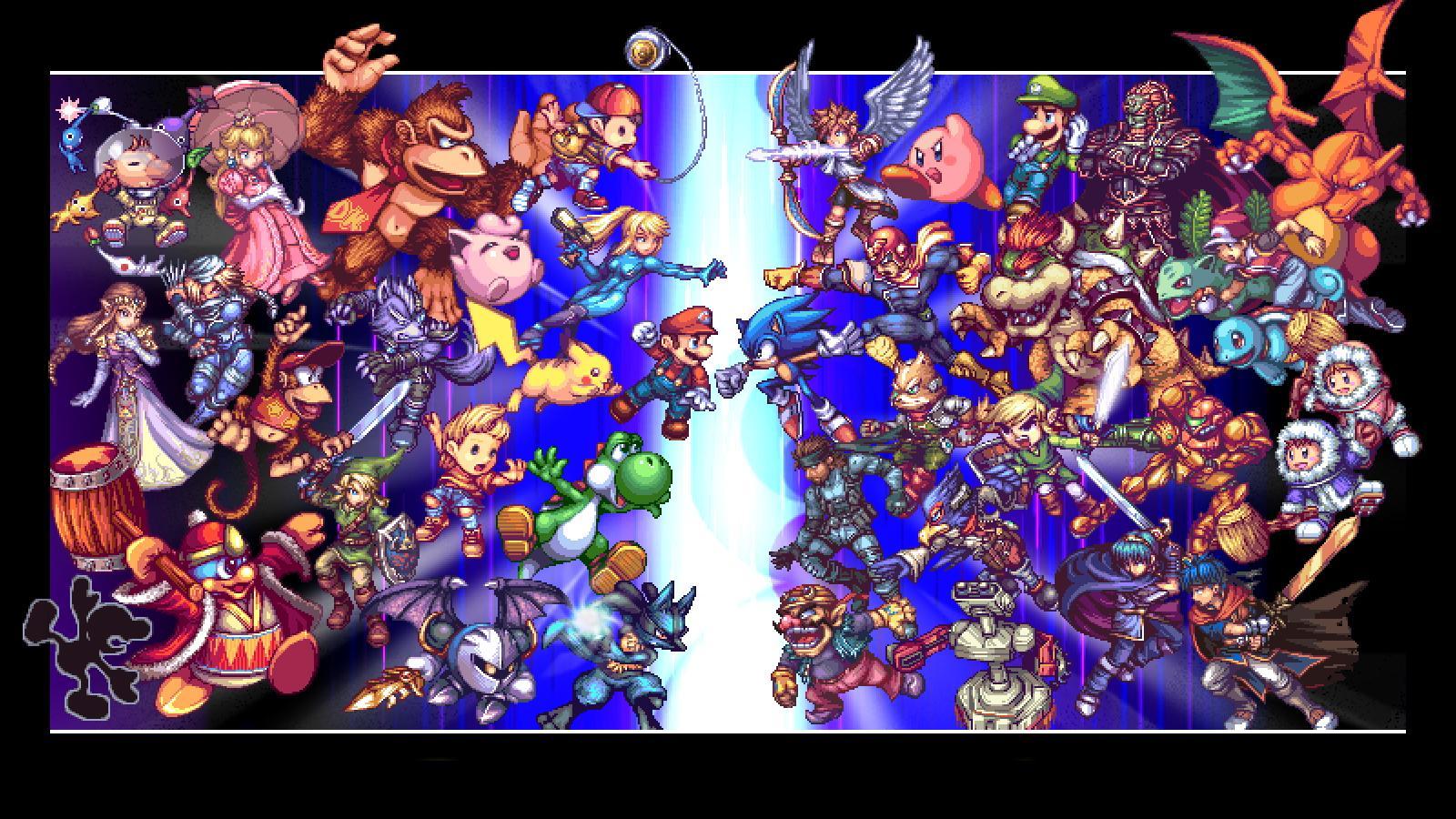 Free Download Super Smash Bros Wallpaper 1600x900 193251