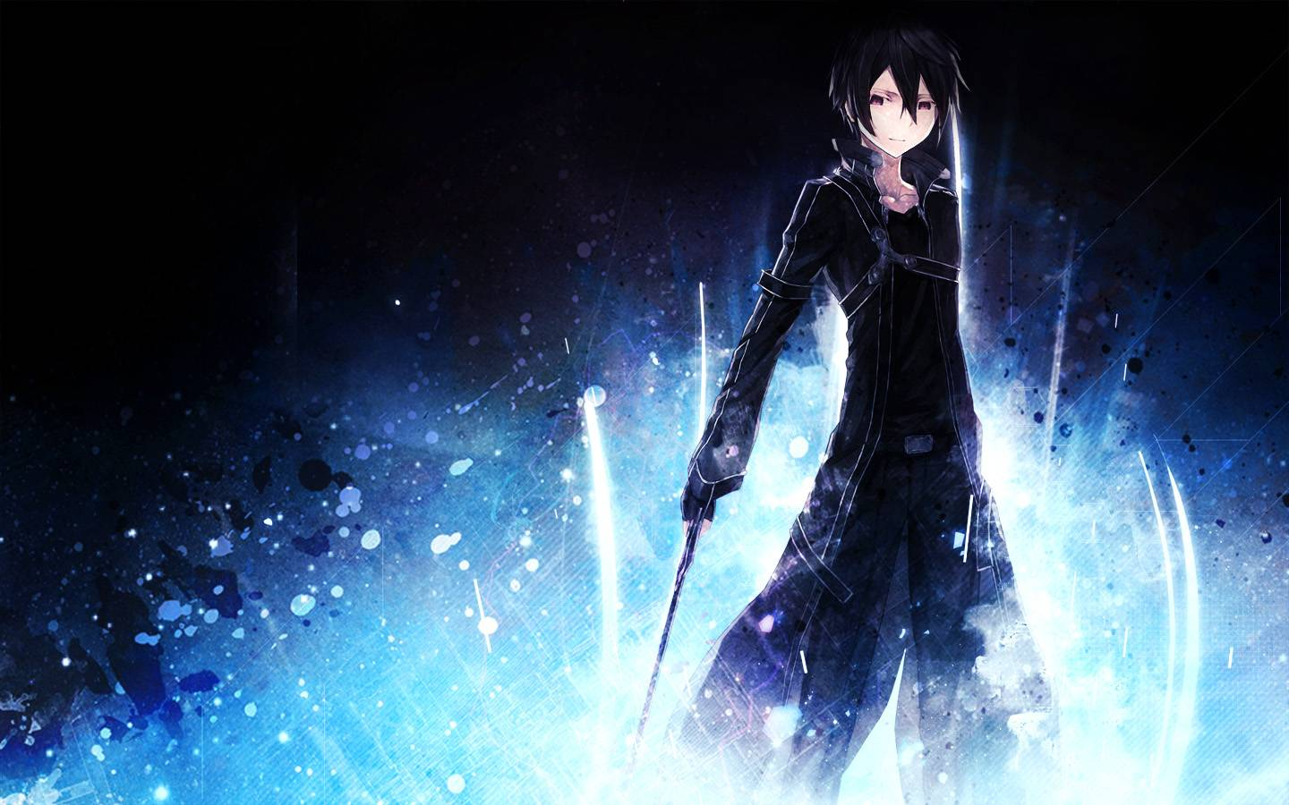 SAO Kirito kun wallpaper   Sword Art Online Wallpaper 1440x900