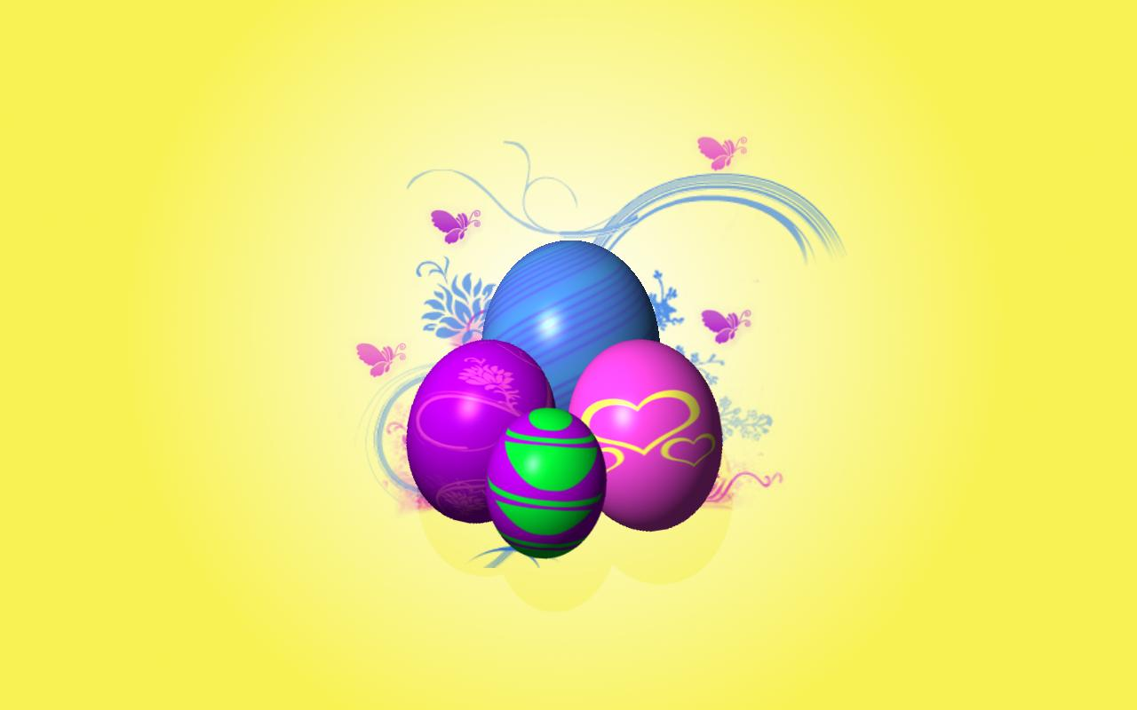 free easter screensavers and wallpaper which is under the easter 1280x800