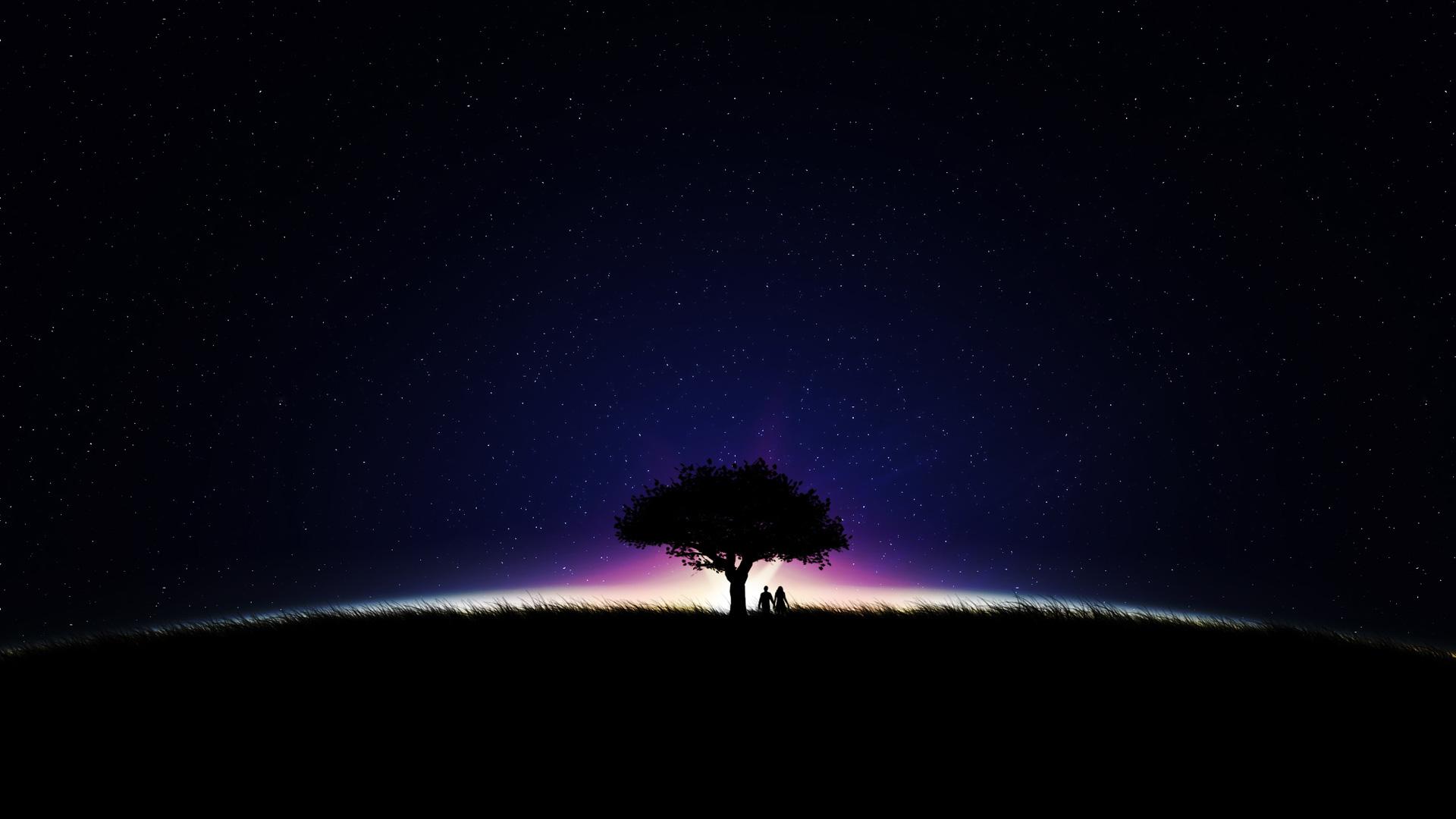 Starry Night   1920x1080   169 1920x1080