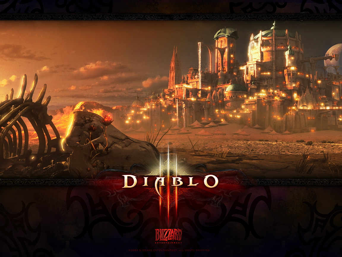 diablo 3 pc game hd wallpaper diablo 3 screen shot 1152x864