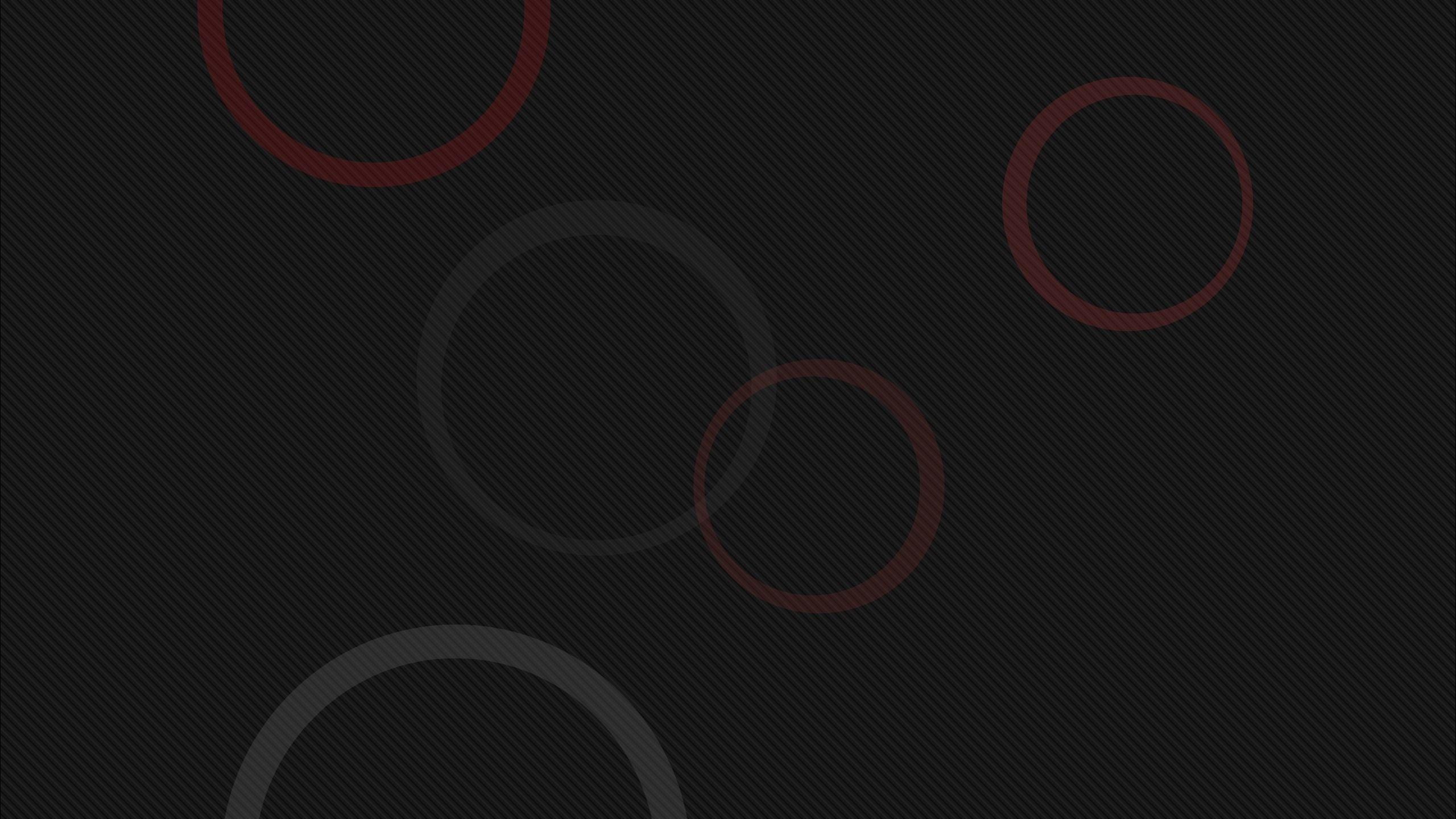 Download Red and gray circles wallpaper 2560x1440