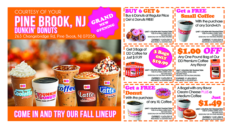 Free Download Images Dunkin Donuts Coupon Page 6 800x445