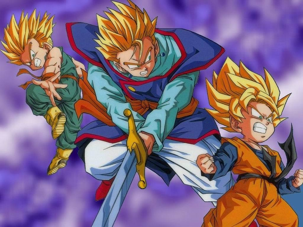 Gohan And Goten Wallpaper   Wallpapers And Pictures 1024x768