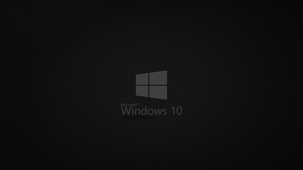 Windows 10 Black Edition by karara160 1024x576