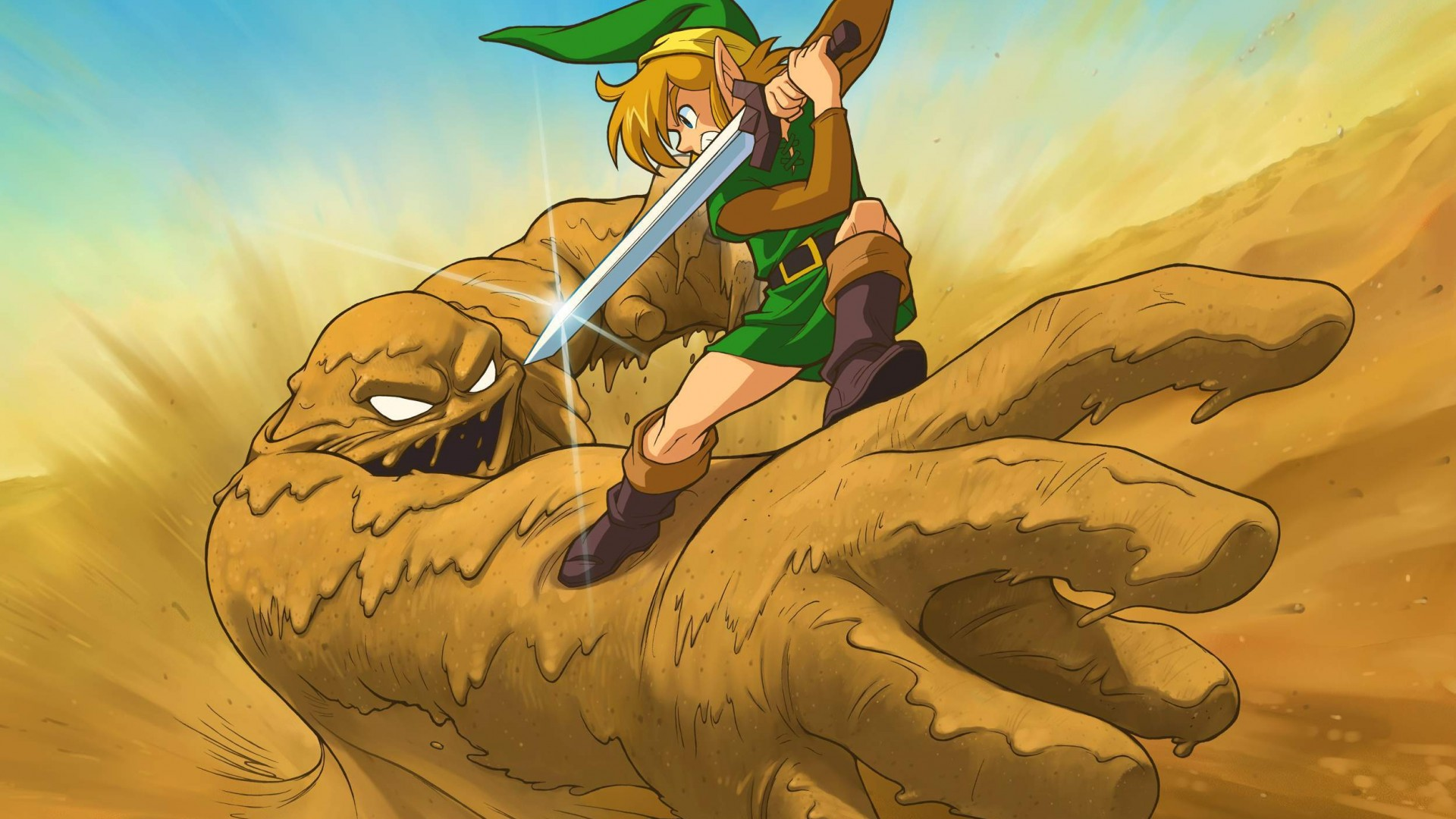 Zelda Vs Sandman HD Wallpaper Fine Wallpaperss 1920x1080