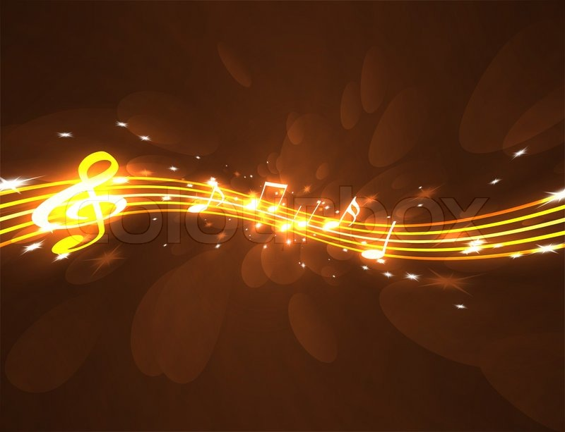 The Yellow Wallpaper Full Story Music Symbols Background Burning Musical On A 800x613